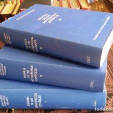 Libros de segunda mano: 1992 - MARCELINO MENÉNDEZ PELAYO - HISTORIA DE LOS HETERODOXOS ESPAÑOLES. 3 TOMOS (COMPLETA). Lote 268135799