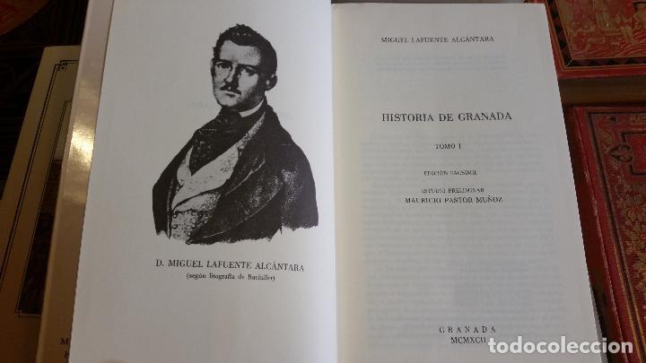 Libros de segunda mano: 1992 - MIGUEL LAFUENTE ALCÁNTARA - Historia de Granada. 4 tomos (obra completa) - Foto 4 - 268136414