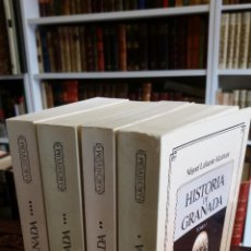 Libros de segunda mano: 1992 - MIGUEL LAFUENTE ALCÁNTARA - HISTORIA DE GRANADA. 4 TOMOS (OBRA COMPLETA). Lote 268136414