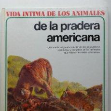 Libros de segunda mano: VIDA ÍNTIMA DE LOS ANIMALES DE LA PRADERA AMERICANA - Nº 20 - AURIGA CIENCIA - 1980. Lote 268148434