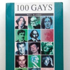 Libros de segunda mano: 100 GAYS. UNA LISTA ORDENADA DE LOS GAYS Y LAS LESBIANAS MÁS INFLUYENTES DEL PASADO Y DEL PRESENTE. Lote 268156339