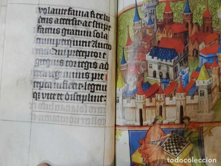 Libros de segunda mano: FACSÍMIL TRACTATUS DE LUDO SCACORUM TRATADO JUEGO DEL AJEDREZ SIGLO XV ED SILOÉ 2008 ÉCHECS CHESS - Foto 9 - 268150859