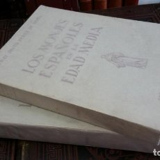 Libros de segunda mano: JUSTO PÉREZ DE URBEL - LOS MONJES ESPAÑOLES EN LA EDAD MEDIA. 2 TOMOS. Lote 268312559