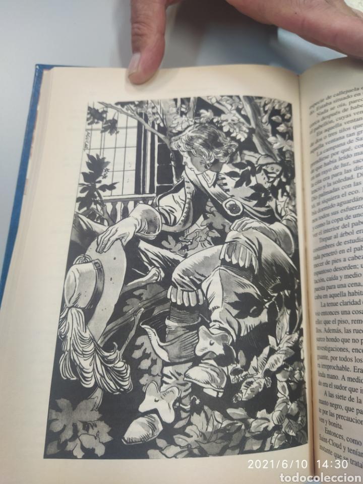 Libros de segunda mano: Los tres mosqueteros, ilustrado - Foto 3 - 268316544