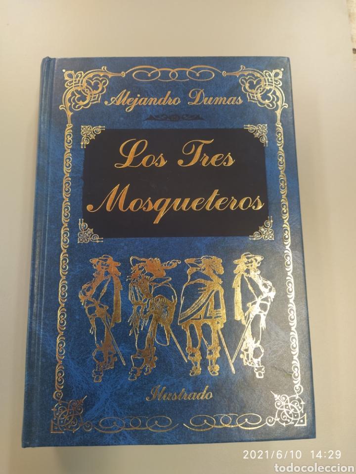 LOS TRES MOSQUETEROS, ILUSTRADO (Libros de Segunda Mano (posteriores a 1936) - Literatura - Otros)
