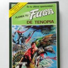 Livres d'occasion: PLANEA TU FUGA DE TENOPIA Nº 3 - TERROR EN KABRAN - RICHARD BRIGHTFIELD - TIMUN MAS. Lote 268601694