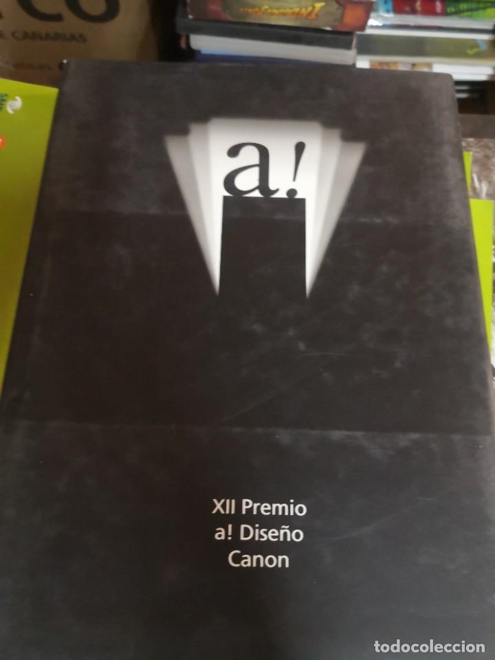 ESTUPENDO LIBRO PREMIO DISEÑO CANON. TAPA DURA CON CONTRAPORTADA (Libros de Segunda Mano - Bellas artes, ocio y coleccionismo - Otros)