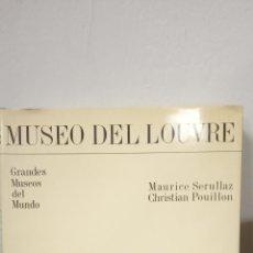 Livros em segunda mão: MUSEO DEL LOUVRE. MAURICE SERULLAZ. CHRISTIAN POUILLON. EDITORIAL OCEANO.. Lote 268743729