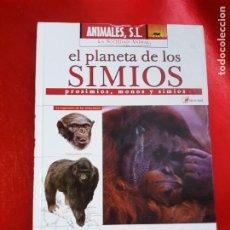 Libros de segunda mano: LIBRO-EL PLANETA DE LOS SIMIOS.PROSIMIOS,MONOS Y SIMIOS-2006-LA SOCIEDAD ANIMAL-NUEVO O SIMILAR. Lote 268781559