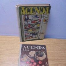 Libros de segunda mano: AGENDA 1957.. AGENDA 1958. ALMANAQUE-AGENDA. SECCION FEMENINA DE F.E.T Y DE LAS J.O.N.S.. Lote 268816794