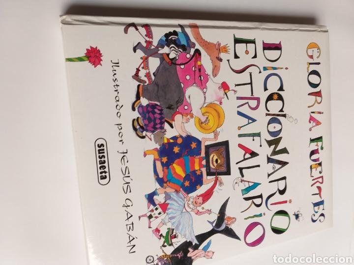 Libros de segunda mano: Diccionario estrafalario Gloria Fuertes - Foto 4 - 268831119