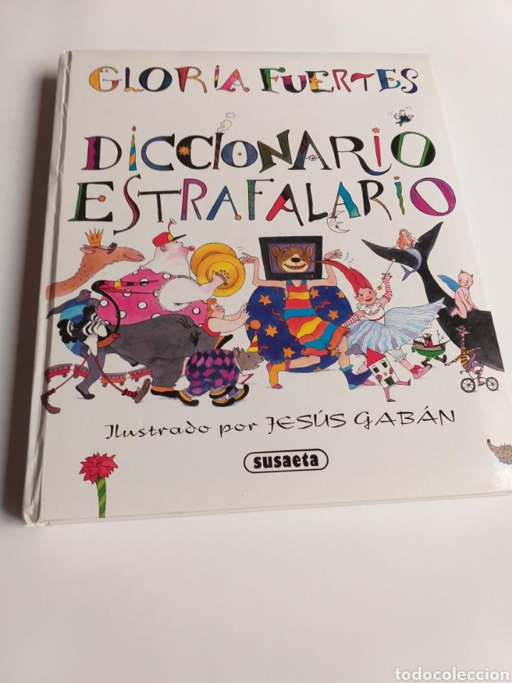 Libros de segunda mano: Diccionario estrafalario Gloria Fuertes - Foto 7 - 268831119