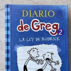 Libros de segunda mano: DIARIO DE GREG 2 - LA LEY DE RODRICK - JEFF KINNEY. Lote 268887804