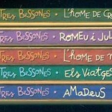 Libros de segunda mano: NUMULITE ** B7 LES TRES BESSONES HOME DE CROMANYON ROMEU I JULIETA MAYAPAN ULISSES AMADEUS. Lote 268888104