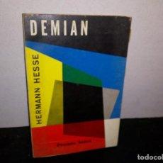 Libros de segunda mano: 7- DEMIAN - HERMANN HESSE. Lote 268906749
