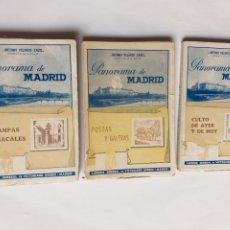 Libros de segunda mano: PANORAMA DE MADRID. CULTO DE AYER Y DE HOY. POSTAS Y GALERAS . ESTAMPAS MONACALES ANTONIO VELASCO ZA. Lote 268927324