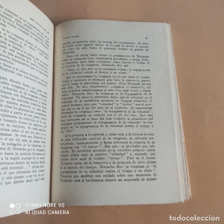Libros de segunda mano: QUE SIGNIFICA PENSAR. MARTIN HEIDEGGER. 1958. EDITORIAL NOVA. 236 PAGS - Foto 5 - 268933089