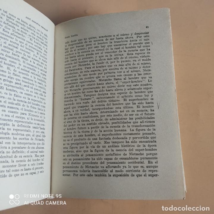 Libros de segunda mano: QUE SIGNIFICA PENSAR. MARTIN HEIDEGGER. 1958. EDITORIAL NOVA. 236 PAGS - Foto 6 - 268933089