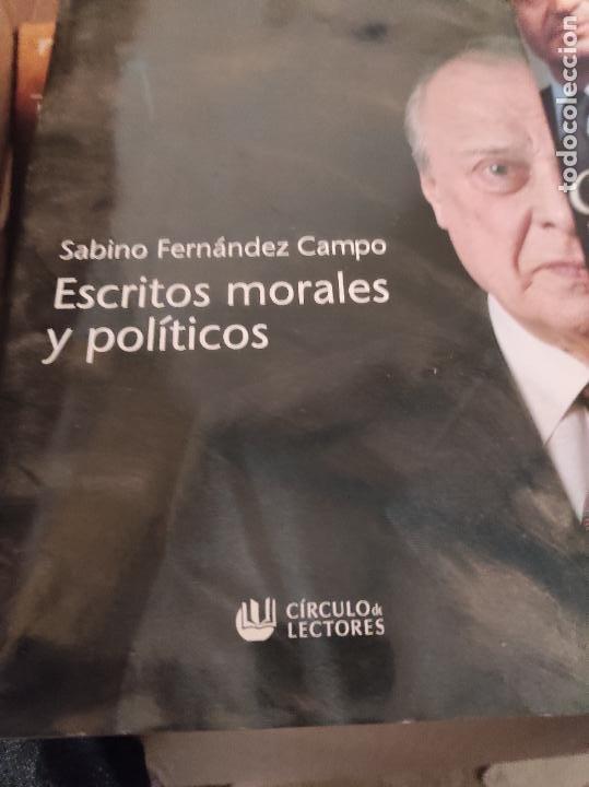ESCRITOS MORALES Y POLÍTICOS - FERNÁNDEZ CAMPO , SABINO (Libros de Segunda Mano - Pensamiento - Otros)