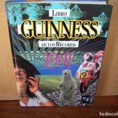 Libros de segunda mano: LIBRO GUINNES DE LOS RECORDS 1991. Lote 268936079