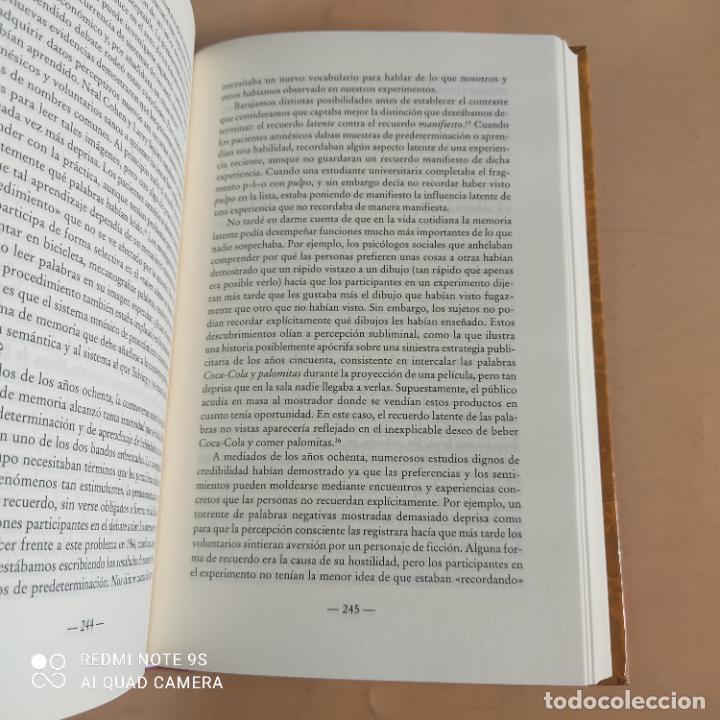 Libros de segunda mano: EN BUSCA DE LA MEMORIA.ELCEREBRO,LA MENTE Y EL PASADO. DANIEL L.SCHACTER.1ª ED. 1999. 502 PAGS - Foto 5 - 268936219
