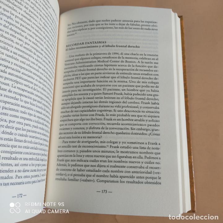 Libros de segunda mano: EN BUSCA DE LA MEMORIA.ELCEREBRO,LA MENTE Y EL PASADO. DANIEL L.SCHACTER.1ª ED. 1999. 502 PAGS - Foto 6 - 268936219