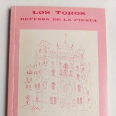 Libros de segunda mano: LOS TOROS. DEFENSA DE LA FIESTA ANTONIO A DUQUE. Lote 268938059