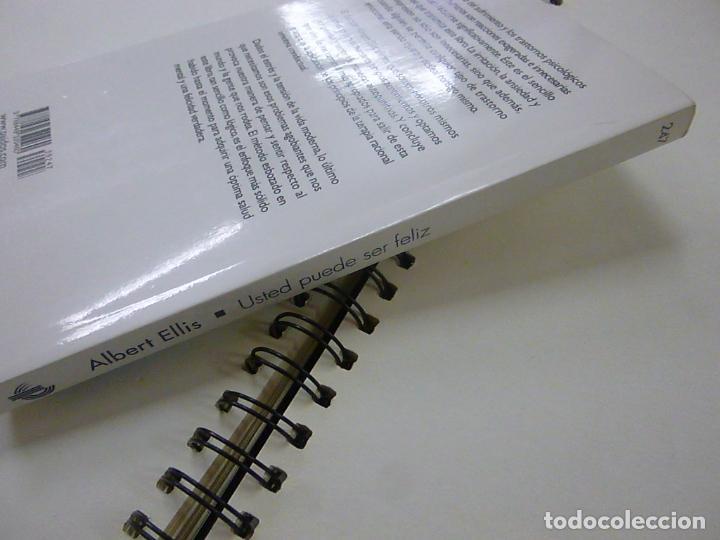 Libros de segunda mano: Usted puede ser feliz - Ellis, Albert -N 1 - Foto 3 - 268946754
