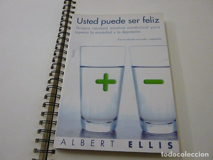 USTED PUEDE SER FELIZ - ELLIS, ALBERT -N 1 (Libros de Segunda Mano - Pensamiento - Otros)