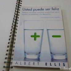Libros de segunda mano: USTED PUEDE SER FELIZ - ELLIS, ALBERT -N 10. Lote 268946754