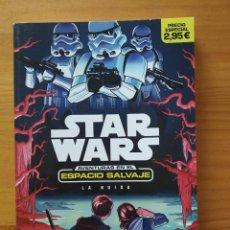 Libros de segunda mano: STAR WARS AVENTURAS EN EL ESPACIO SALVAJE Nº 1 - LA HUIDA - PLANETA JUNIOR (6Q). Lote 268952889