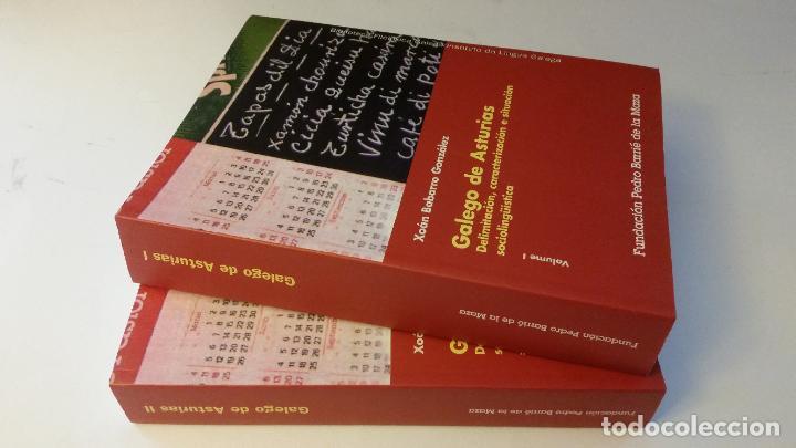 2003 - BARBARRO GONZÁLEZ - GALEGO DE ASTURIAS - 2 TOMOS (Libros de Segunda Mano - Ciencias, Manuales y Oficios - Otros)