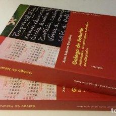 Libros de segunda mano: 2003 - BARBARRO GONZÁLEZ - GALEGO DE ASTURIAS - 2 TOMOS. Lote 268969079