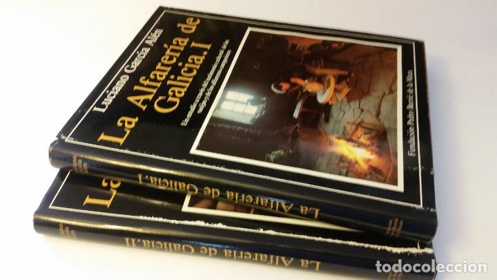 1983 - GARCÍA ALÉN - LA ALFARERÍA DE GALICIA - 2 TOMOS (Libros de Segunda Mano - Bellas artes, ocio y coleccionismo - Otros)