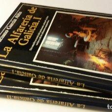 Libros de segunda mano: 1983 - GARCÍA ALÉN - LA ALFARERÍA DE GALICIA - 2 TOMOS. Lote 268969549