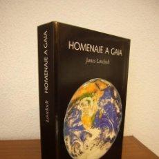 Libros de segunda mano: JAMES LOVELOCK: HOMENAJE A GAIA. LA VIDA DE UN CIENTÍFICO INDEPENDIENTE (LAETOLI, 2005). Lote 268978664