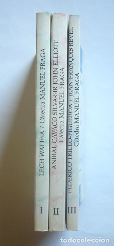 Libros de segunda mano: CINCO LECCIONES EN TRES LIBROS DE LA CATEDRA MANUEL FRAGA - EDITA FUNDACION CANOVAS DEL CASTILLO - Foto 3 - 268979584