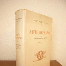 Libros de segunda mano: ENCICLOPEDIA CLÁSICA, I: ARTE ROMANO (CSIC, 1972) ANTONIO GARCÍA Y BELLIDO. ED. AUMENTADA.. Lote 268989294