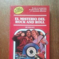 Libros de segunda mano: EL MISTERIO DEL ROCK AND ROLL, ELIGE TU PROPIA AVENTURA 55, TIMUN MAS, JIM WALLACE. Lote 268989899