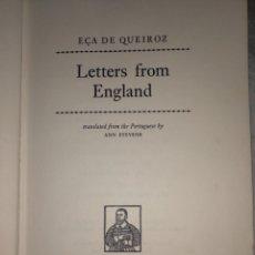 Libros de segunda mano: LIBRO LETTERS FROM ENGLAND - EÇA DE QUEIRÓS. Lote 269008259