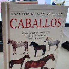 Libros de segunda mano: MANUAL DE IDENTIFICACIÓN CABALLOS - HARTLEY EDWARDS, E.. Lote 269087453