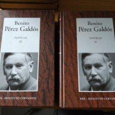 Libros de segunda mano: NOVELAS, BENITO PEREZ GALDOS, RBA. 2006. Lote 269093808
