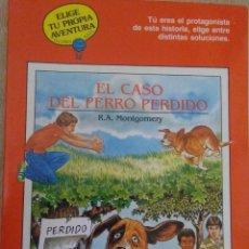 Libros de segunda mano: EL CASO DEL PERRO PERDIDO - ELIGE TU PROPIA AVENTURA. Lote 269096158