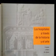 Libros de segunda mano: LIBRO DE GRANDES DIMRNSIONES LOS HOSPITALES A TRAVES DE LA HISTORIA Y EL ARTE AÑO 2004. Lote 269124738