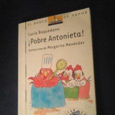 Libros de segunda mano: BARCO DE VAPOR SERIE BLANCA. Lote 269169113