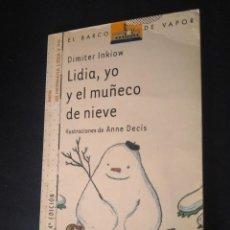 Libros de segunda mano: BARCO DE VAPOR SERIE BLANCA.. Lote 269169158