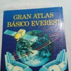 Libros de segunda mano: GRAN ATLAS BASICO EVEREST AÑO 1988. Lote 269174768