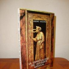 Libros de segunda mano: LA ESPIRITUALIDAD DEL OCCIDENTE MEDIEVAL (SIGLOS VIII-XII) - ANDRÉ VAUCHEZ - CATEDRA, MUY BUEN ESTAD. Lote 269180233