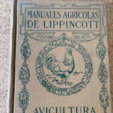 Libros de segunda mano: AVICULTURA PRODUCTIVA, POR HARRY R.LEWIS (CAJ 4). Lote 269215133