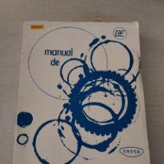 Libros de segunda mano: 50805 - MANUAL DE EXPERIENCIAS MECANICAS - EDITORIAL ENOSA - AÑO 1963. Lote 269218663
